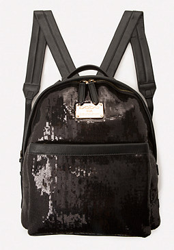 bebe Xena Sequin Backpack