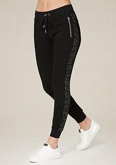 Embellished Jogger Pants