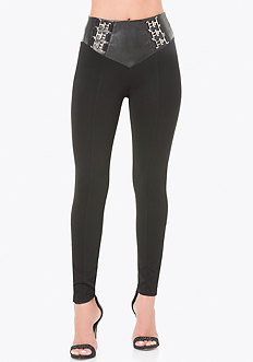 Petite T-Hook High Leggings