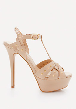 bebe Benicia Leather Sandals