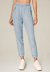 bebe April Chambray Pants