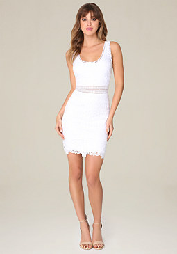 bebe Molly Lace Dress