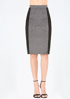 Chanice Faux Suede Skirt