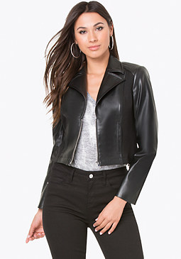 bebe Wide Lapel Jacket