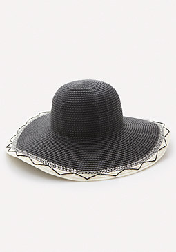 bebe Graphic Detail Floppy Hat