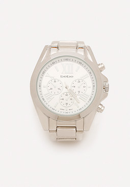 bebe Oversize Boyfriend Watch