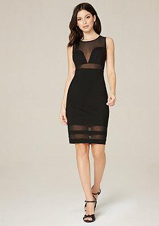 Cassidy Mesh Inset Dress