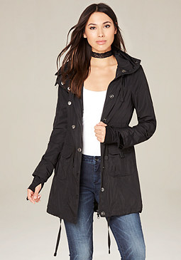 bebe Hooded Anorak