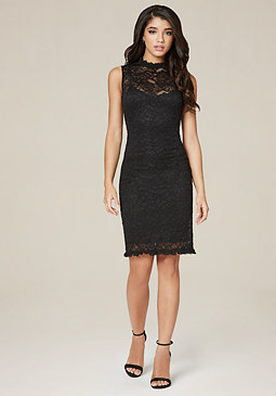 bebe Meghan Lace Dress