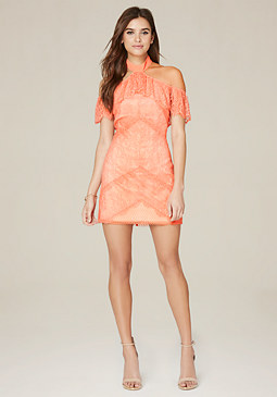 bebe Kendall Lace Dress