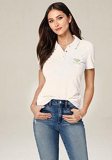 Logo Pique Polo Shirt