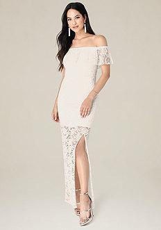 Amelia Lace Maxi Dress