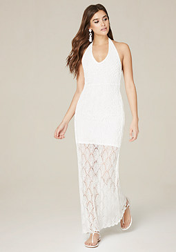 bebe Buena Vista Maxi Dress