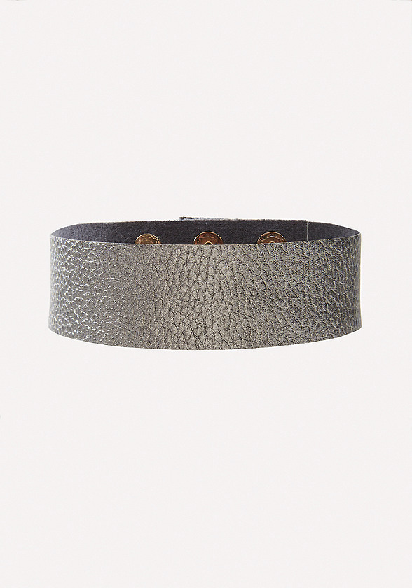 Glam Faux Leather Choker