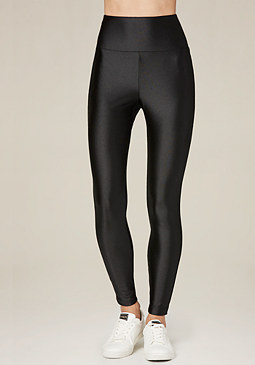 bebe Slick High Rise Leggings