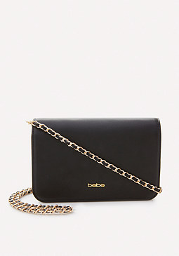 bebe Gia Chain Crossbody Bag