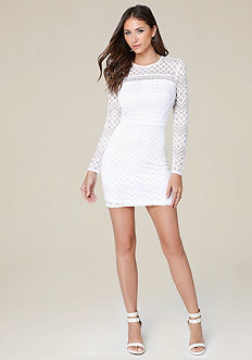 Linda Lace Day Dress