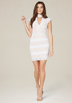 bebe Madison Lace Dress