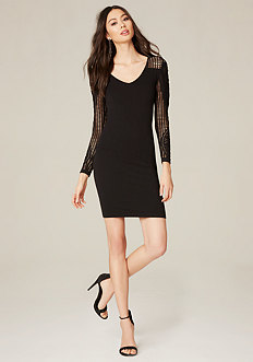 Lidia Textured Rib Dress