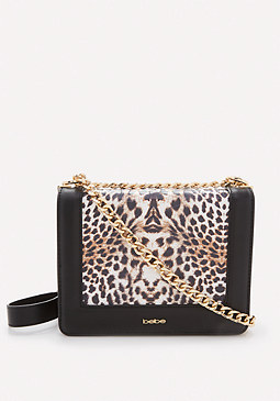 bebe Cheetah Crossbody Bag