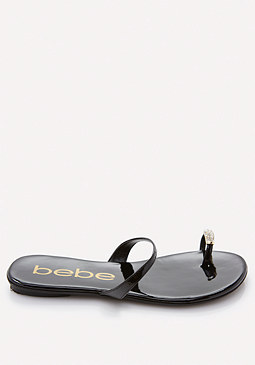bebe Brenda Toe Ring Sandals