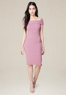 Danny Ribbed Dress