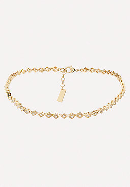 bebe Diamond Kite Choker
