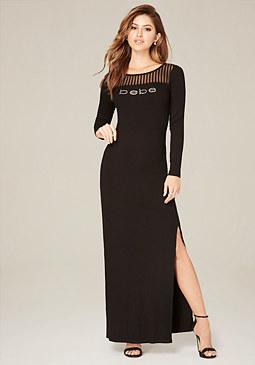 Petite Dresses: Petite Maxi Dresses &amp More  bebe