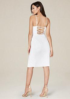 Mandi Crisscross Back Dress