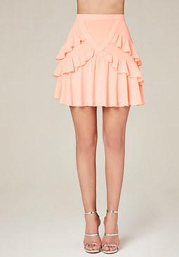 High Waisted White Pencil Skirt
