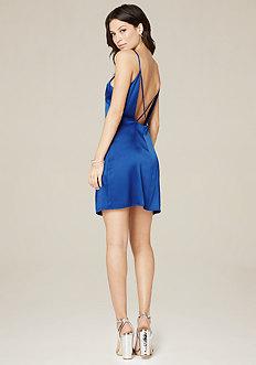 Jen Silk Slip Mini Dress