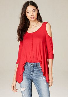 Reverse Seam Shoulder Top