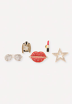 bebe Mixed Pin Set