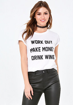 bebe Work Out Tee