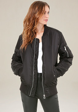 bebe Current Mood Bomber Jacket