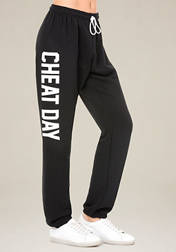 bebe Cheat Day Sweatpants
