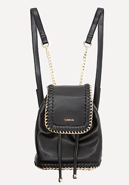 bebe Joni Chain Trim Backpack