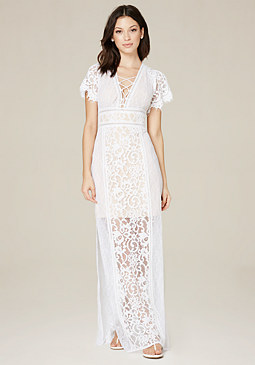 bebe Emery Lace Dress