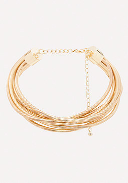 bebe Multi-Coil Collar Necklace