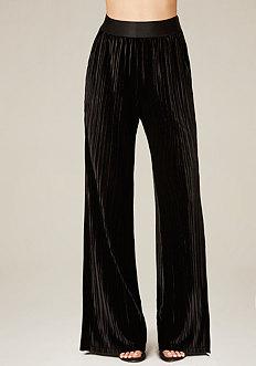 Velvet Flared Pants