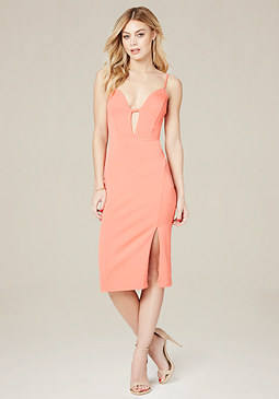 bebe Mandi Back Crisscross Dress