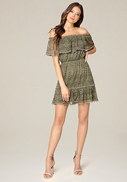 bebe Faith Lace Dress