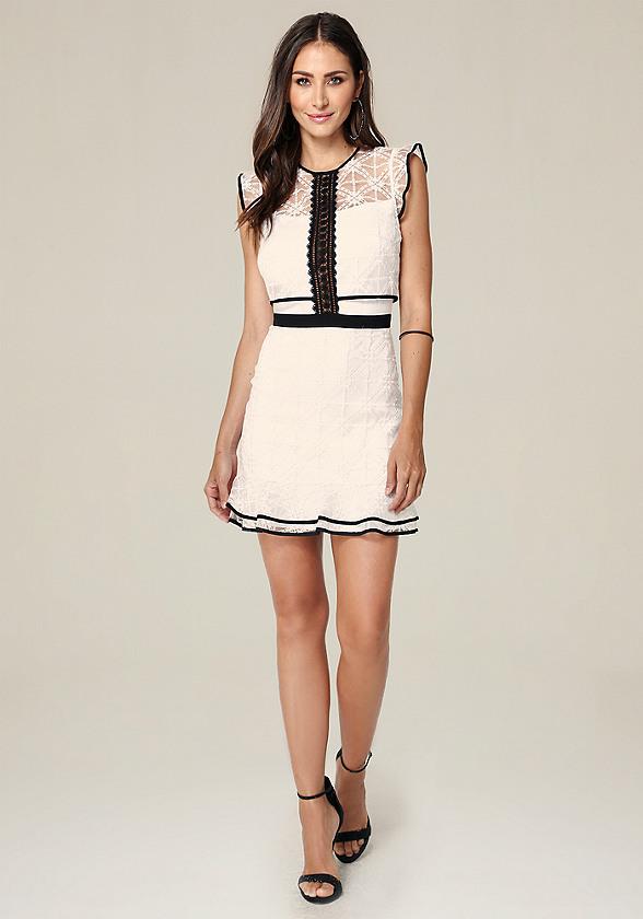 Anna Cap Sleeve Dress