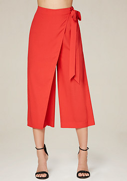 bebe Overlay Culottes