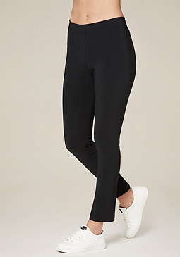 Bonded Scuba Leggings at bebe