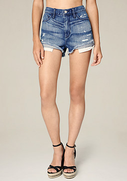 bebe Cheeky High Rise Shorts