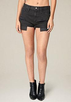 Black Cheeky Shorts