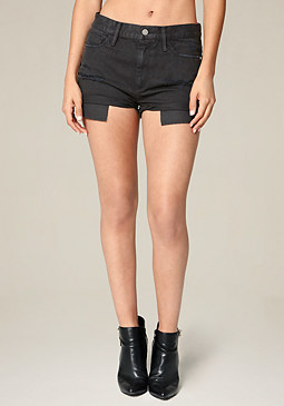 bebe Black Cheeky Shorts