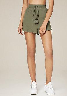 Flutter Hem Tap Shorts