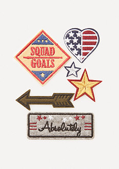 Squad Goals Iron-On Patches
